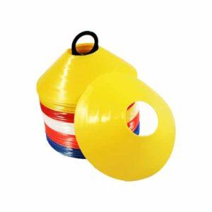 Saucer Soccer Cones Fielding Practice Training Aids
