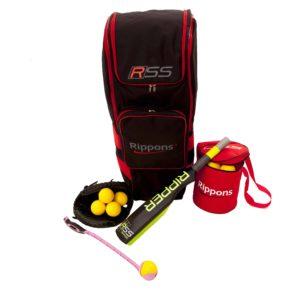 Cricket Fielding Net Practice Sidearm Cricket Balls Backpack