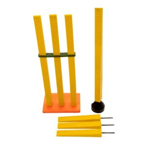 Flexible Stumps Cricket Training Aids Stump Bowling Fielding