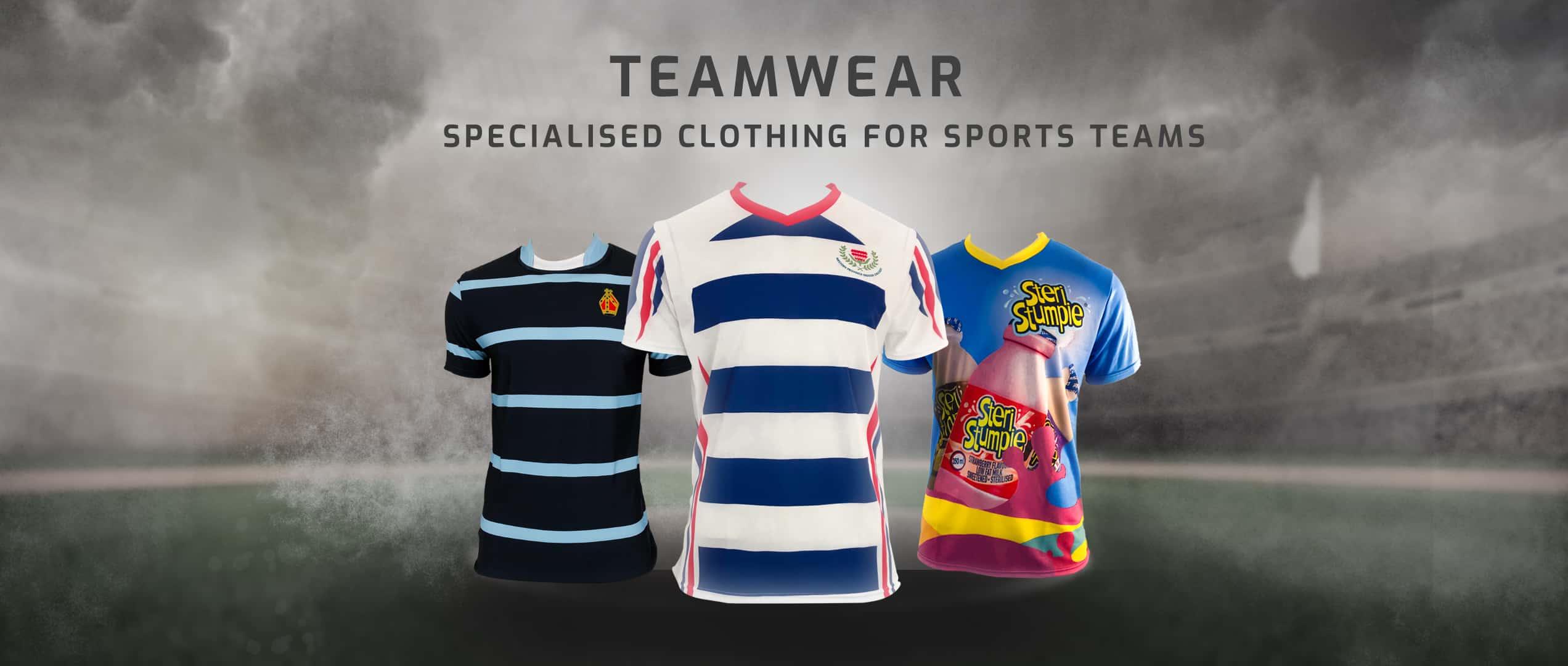 Teamwear - Shop Now