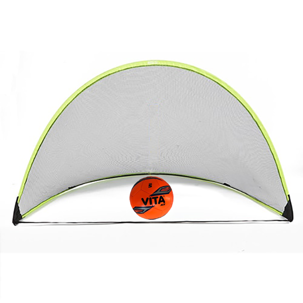 RSS pop up net with soccer ball