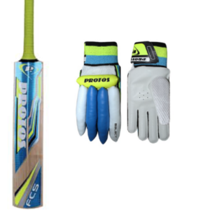 Protos Bat and Glove Combo for children