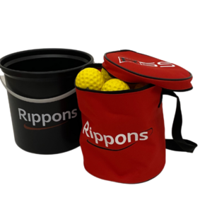 Throw-down balls Bag and Bucket Combo